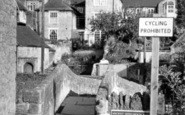 Bruton, Pack Horse Bridge c.1955