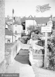 Pack Horse Bridge c.1955, Bruton