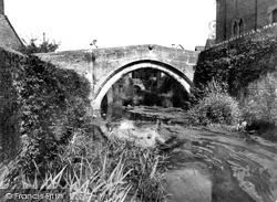 Packhorse Bridge c.1955, Bruton