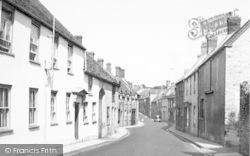 Quaperlake Street c.1955, Bruton