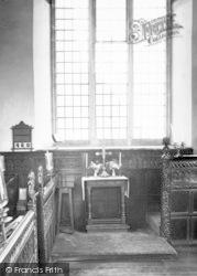 Sexey's Hospital Chapel Interior c.1960, Bruton