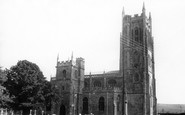 Bruton, St Mary's Church c.1960