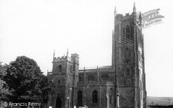 St Mary's Church c.1960, Bruton
