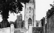 Bruton, The Church Of St Mary The Virgin c.1960