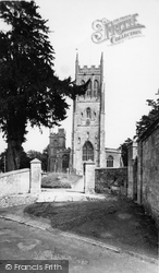 The Church Of St Mary The Virgin c.1960, Bruton