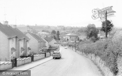 View From Shepton Road c.1965, Bruton