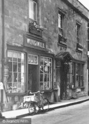 Windmill's Ironmongers Shop c.1960, Bruton