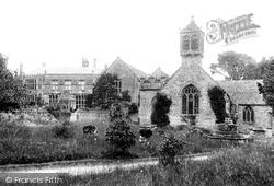 Brympton D'evercy, House And Church 1900