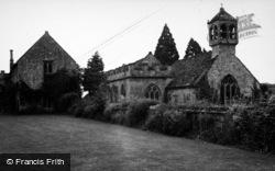 Brympton D'evercy, House And Church 1950