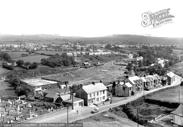 Brynamman, General View c.1950
