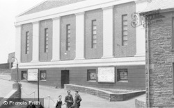 Brynamman, The Public Hall c.1955
