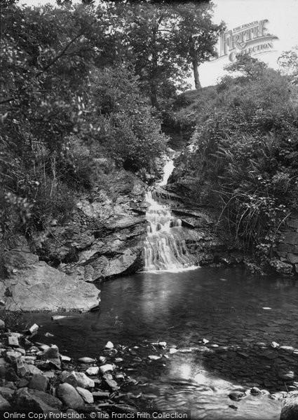 Brynamman, The Waterfall c.1955