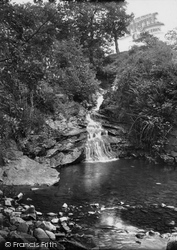 Brynamman, The Waterfall c.1955