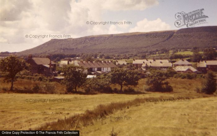 Photo of Bryncoch, The Village, From New Road 1961