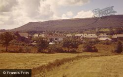 The Village, From New Road 1961, Bryncoch