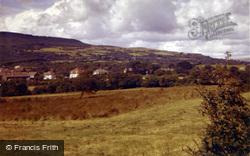 The Village, Looking Towards Duffryn Arms 1961, Bryncoch