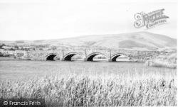 Bryncrug, Dysynni Bridge c.1960