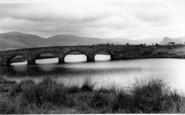 Bryncrug, Pont Dysynni c.1960