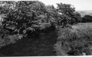 Bryncrug, The River c.1960