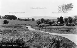 Brynffordd, From Pantlle c.1955