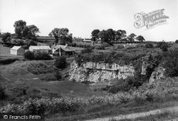 Brynffordd, General View c.1960, Brynford