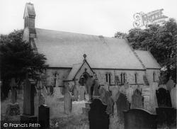 Brynffordd, St Michael's Church c.1960, Brynford