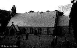 Brynffordd, St Michael's Church c.1965, Brynford