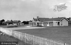 Brynffordd, The School c.1960, Brynford