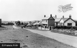 Brynffordd, View From The East c.1955