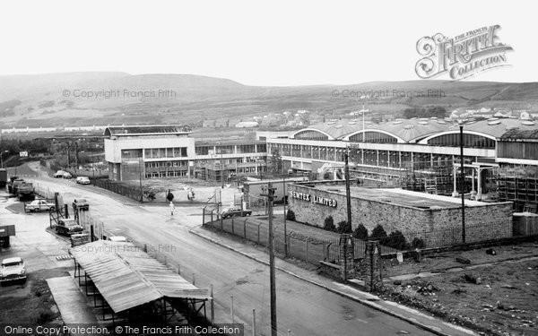 Photo of Brynmawr, Dunlop Semtex Factory c1965