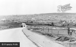 Brynmawr, From The Blaenavon Road c.1955