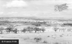Brynmawr, General View c.1960