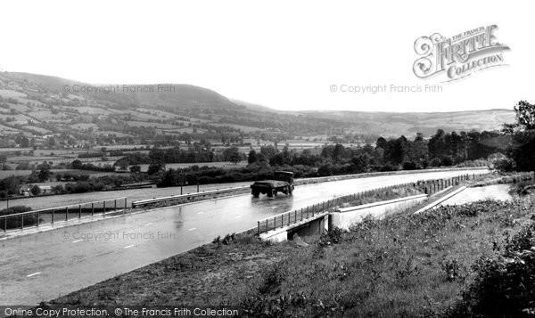Brynmawr, Head Of The Valleys Road c.1960