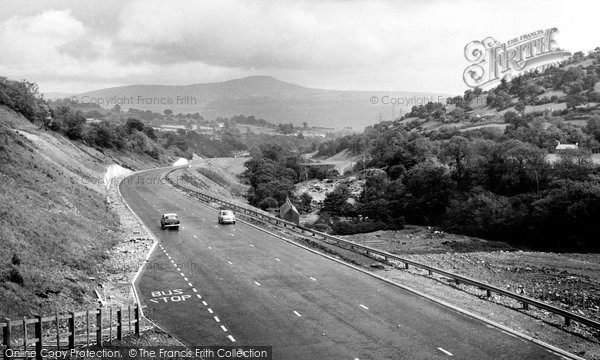 Brynmawr, Heads Of The Valleys Road c.1960