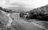 Brynmawr, Heads of the Valleys Road c1960
