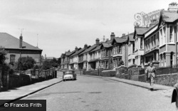 Brynmawr, King Edward Road c.1955