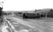 Brynmawr, the Bus Station c1965