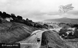 Brynmawr, The Head Of The Valleys Road c.1960