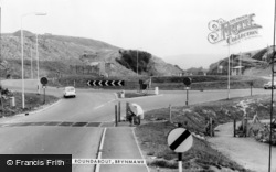 Brynmawr, The Roundabout c.1965