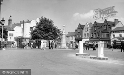 Brynmawr, The Square c.1955