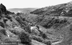 Brynmawr, The Valley c.1955