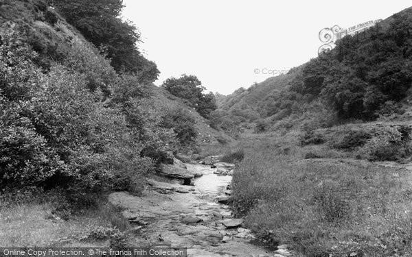 Brynmawr, The Valley c.1955