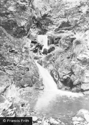 Brynmawr, The Whirlpool Falls c.1950