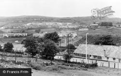 Brynmawr, Winches Town c.1955