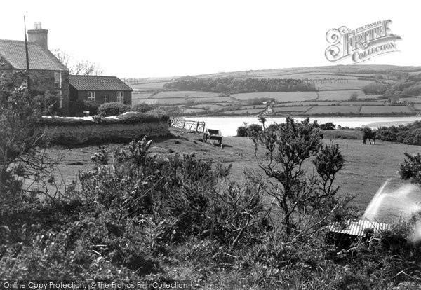 Brynrefail, View Across Dulas Bay c.1950