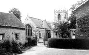 Bubwith, the Church c1955