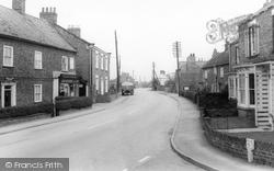 Bubwith, Main Road c.1965