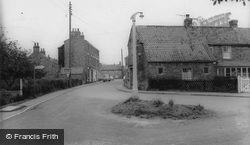 Bubwith, Station Road c.1960