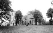 Bubwith, the Church c1960