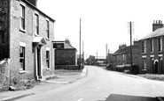 Bubwith, the Main Street c1955